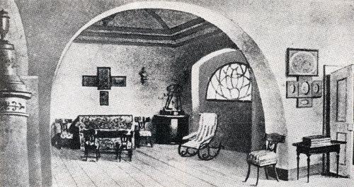 Madách Imre sztregovai dolgozószobája